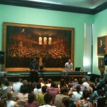 ReAnimate Late Shift Extra event at the National Portrait Gallery