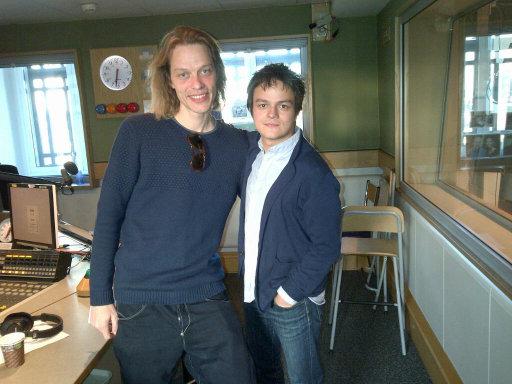 Jamie Cullum chats to Jasper Høiby!