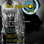 Eugene McGuinness headlines The Selector Club Night!