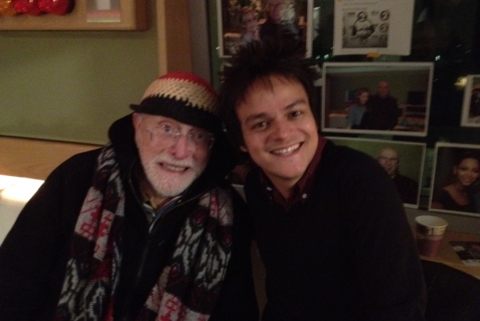 Jamie Cullum chats to seminal jazz vocalist Mark Murphy!