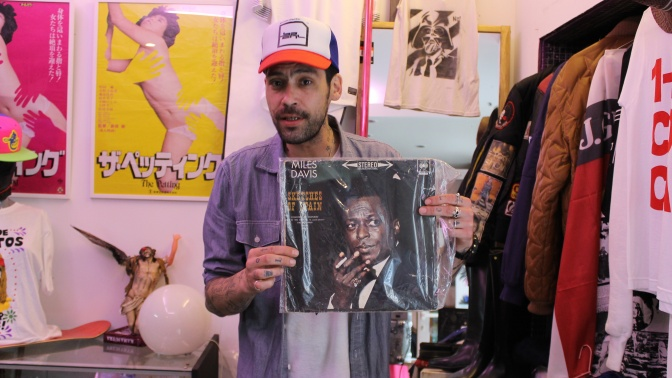 Pedro's brother Thomas Winter runs a gallery next door to the Ed Banger offices