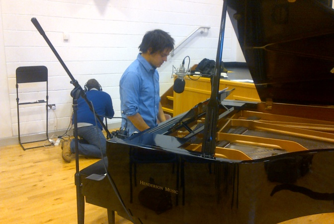 Behind The Scenes On Jamie's Piano Pilgrimage