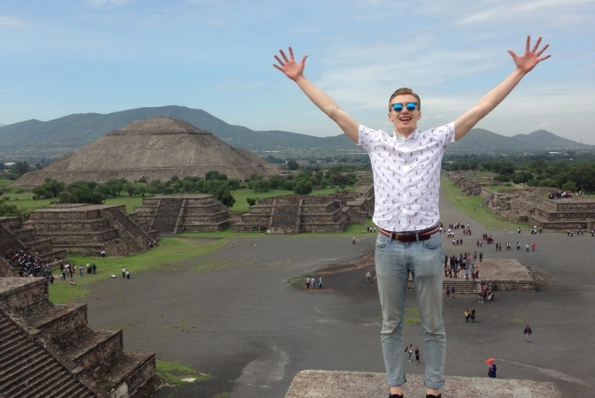 SRA Selector Winner Jack Saunders' Trip To Mexico