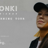 Do you want to go on tour with Monki?