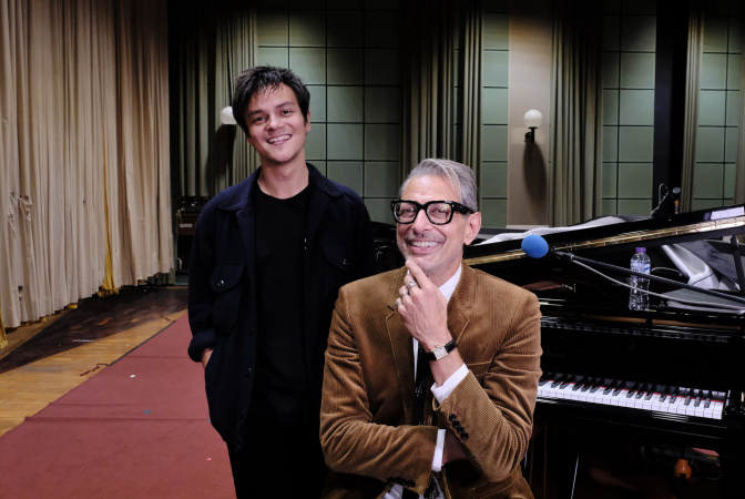 Jamie & Jeff Goldblum on BBC Radio 2