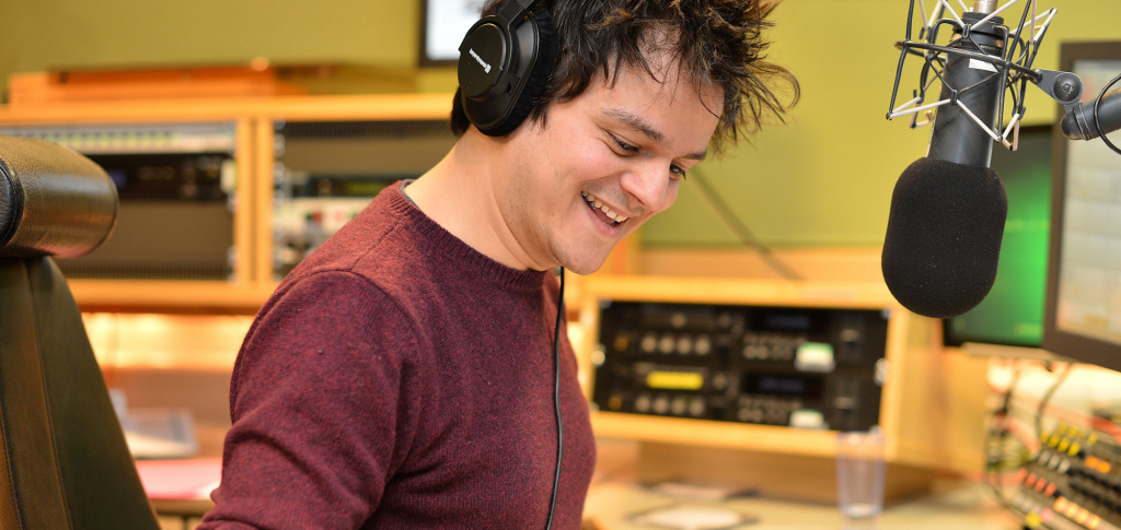 'Best Music Broadcaster' - Silver for Jamie Cullum!