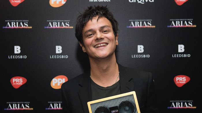 Jamie wins Best Music Presenter at ARIAS!